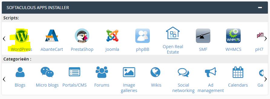 WordPress downloaden & installeren