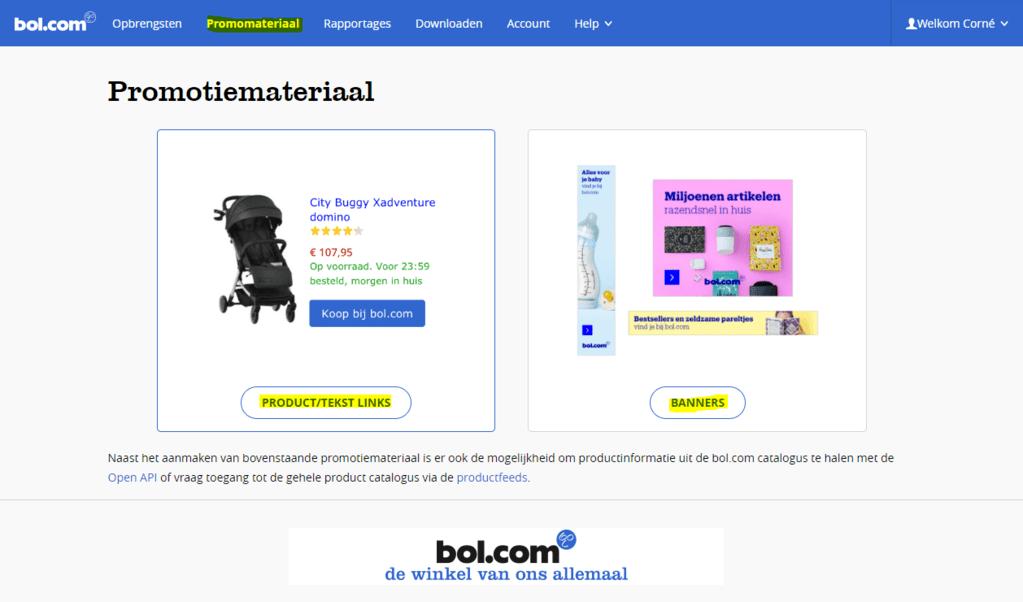Bol.com Affiliate Producten Verkopen
