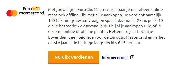 EuroClix Tip #6: EuroClix Creditcard Aanvragen