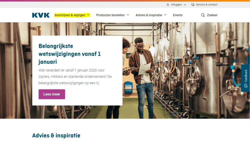 verkopen via bol.com: Stap 1: Inschrijven Bij De KvK