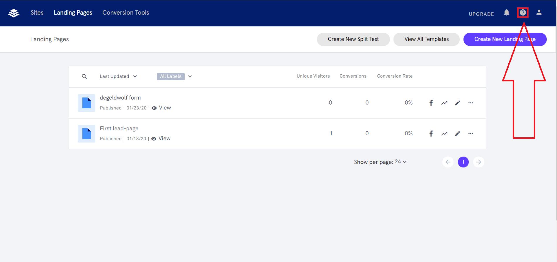 leadpages klantenservice
