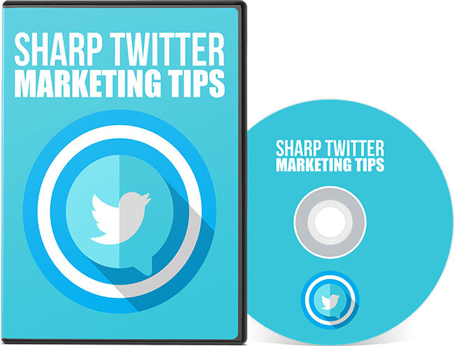 Sharp Twitter Marketing Tips GFXSET